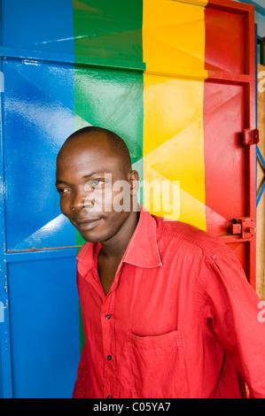 Faces of Burkina Faso. - Stock Photo
