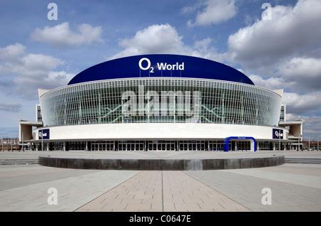 O2 World, multi-purpose arena, Friedrichshain, Berlin, Germany, Europe - Stock Photo