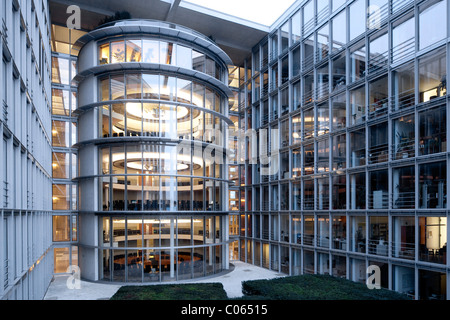 Paul Loebe Building, Bundestag administration and members' offices, Berlin-Mitte, Berlin, Germany Europe - Stock Photo