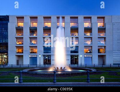 berlin germany pariser platz dz bank interior by architect frank stock photo 87713769 alamy. Black Bedroom Furniture Sets. Home Design Ideas