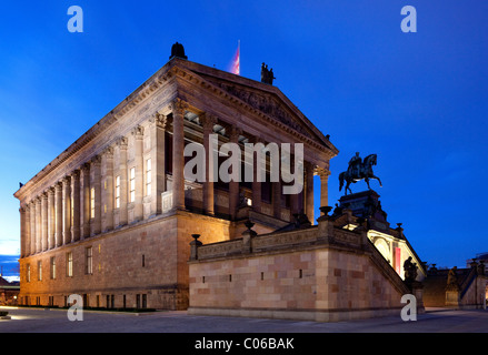 Alte Nationalgalerie, Old National Gallery, on the Museum Island, Berlin-Mitte district, Berlin, Germany, Europe - Stock Photo