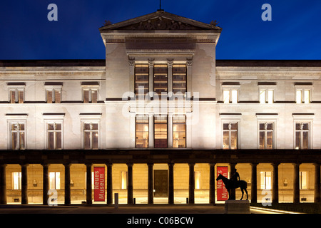 Neues Museum, New Museum, on the Museum Island, Berlin-Mitte district, Berlin, Germany, Europe - Stock Photo