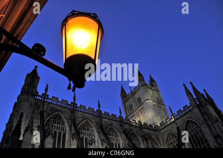 The Abbey Church of Saint Peter and Saint Paul, Bath. - Stock Photo