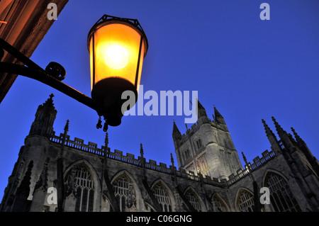 The Abbey Church of Saint Peter and Saint Paul, Bath. - Stock Photo