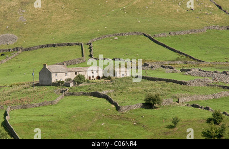 Arkengarthdale, near Reeth in Swaledale, North Yorkshire - Stock Photo