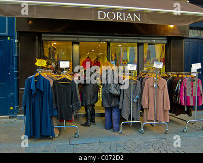 Paris, France, Women Shopping, French Vintage Clothing Store, Display 'Dorian', Les Halles District, Shop Front, - Stock Photo