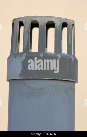 Close up of a gas outlet for drain pipe, Pune, Maharashtra, India - Stock Photo