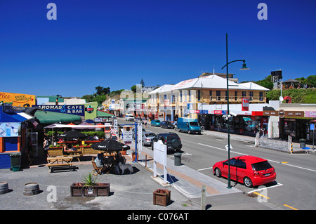 Town centre, West End, Kaikoura, Canterbury, South Island, New Zealand - Stock Photo