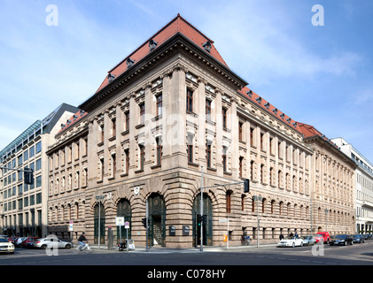 Historic office building in Mitte district, Berlin, Germany, Europe - Stock Photo