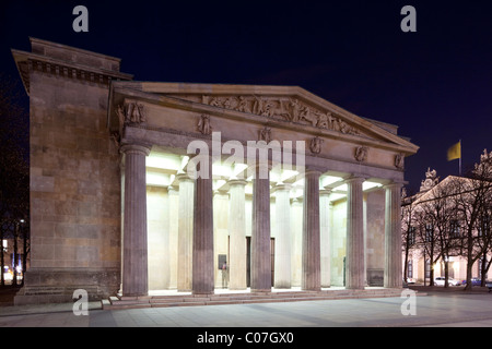 Neue Wache, Central Memorial of the Federal Republic of Germany for the Victims of War and Tyranny, Unter den Linden - Stock Photo