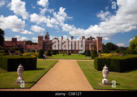 Blickling Hall in the Norfolk countryside East Anglia England - Stock Photo