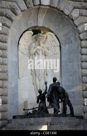 National War Memorial in Adelaide, South Australia, Australia - Stock Photo