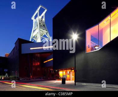Extension of the German Mining Museum, Black Diamond, Bochum, Ruhr area, North Rhine-Westphalia, Germany, Europe - Stock Photo