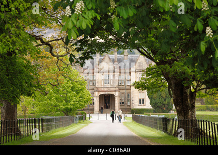 Muckross House and Gardens, Killarney National Park, County Kerry, Ireland, British Isles, Europe - Stock Photo