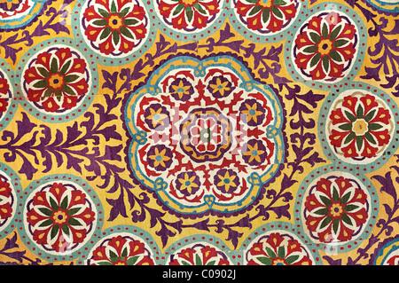 Suzani. Silk embroidered textile from Uzbekistan - Stock Photo