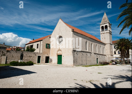 Dominican Monastery, Trogir, County of Split-Dalmatia, Croatia, Europe - Stock Photo