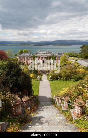Bantry House, West Cork, Republic of Ireland, British Isles, EuropeBantry House, West Cork, Republic of Ireland, - Stock Photo