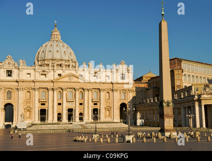Saint Peter's Basilica, Vatican City, Italy - Stock Photo