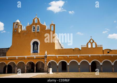 San Antonio de Padua Convent, Izamal, Yucatan, Mexico - Stock Photo