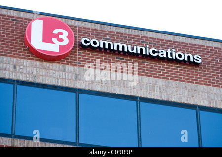 A L3 Communications office building. - Stock Photo