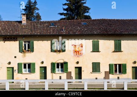 Robecco sul Naviglio, Milan province, Italy - Stock Photo