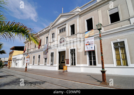Regional Museum, natural history, cultural history, Avenida Baquedano, historic buildings, Iquique, Norte Grande, - Stock Photo