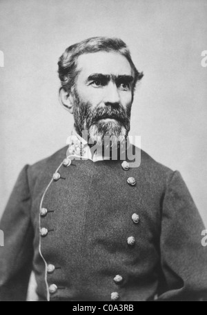 General Braxton Bragg (1817 - 1876) - a leading Confederate States of America army officer in the American Civil - Stock Photo