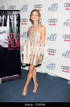 Sarah Michelle Gellar 'Southland Tales' premiere as part of the AFI Film Festival at ArcLight Theaters Los Angeles, - Stock Photo