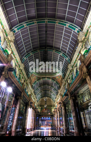 County Arcade - Victoria Quarter Leeds - Stock Photo