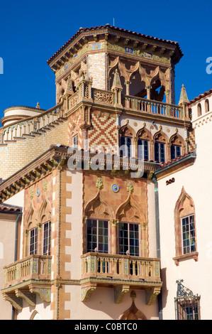 Ca' d'Zan Mansion, Ringling Museum of Art, Sarasota, Florida, USA - Stock Photo