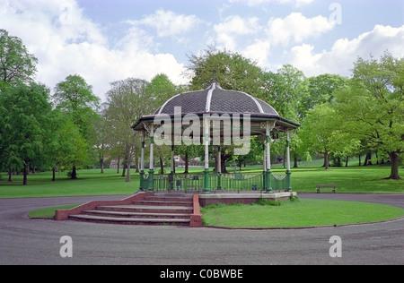 Bandstand Pavilion In Mary Stevens Public Park, Stourbridge, West Midlands, England, UK - Stock Photo