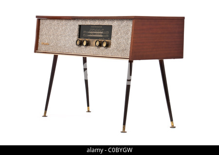 Vintage Westminster A263M radiogram - Stock Photo
