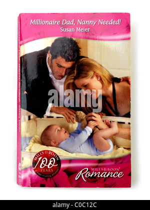 Front Cover Of Mills and Boon Paperback Novel - Stock Photo