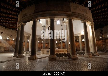 italy, rome, basilica of santo stefano rotondo - Stock Photo
