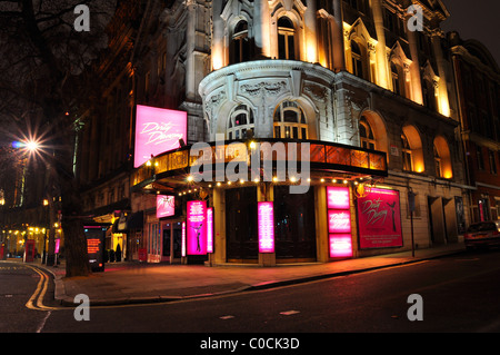 Aldwych Theatre on Drury Lane in London - Stock Photo