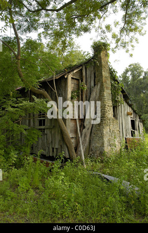 old farm house North Florida - Stock Photo