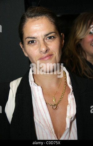 Artist Tracy Emin at the private view of 'Deliverance', an exhibition at space Spring Projetcs in Kentish Town London, - Stock Photo