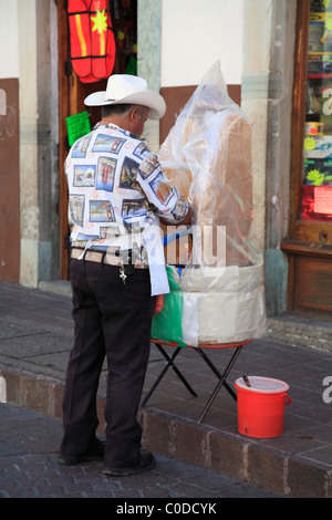 Street Food vendor, Guanajuato, Mexico - Stock Photo