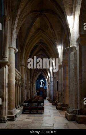 Christchurch Priory - Dorset - Stock Photo