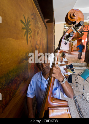 Havana Club Band Playing Cuban music - Stock Photo