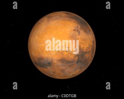 Planet Mars - Stock Photo