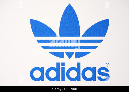 ADIDAS LOGO ADIDAS AND SNOOP DOGG CO HOST ALLSTAR WEEKEND PARTY DOWNTOWN LOS ANGELES CALIFORNIA USA 19 February - Stock Photo