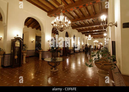 Hotel National Vedado, Lobby, Cuba - Stock Photo