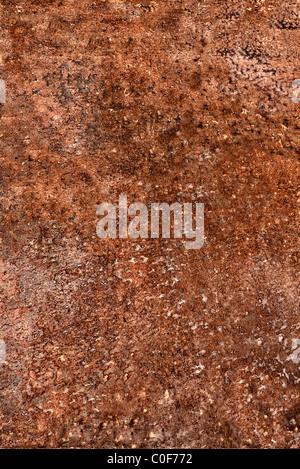 Sheet of rusty steel - Stock Photo
