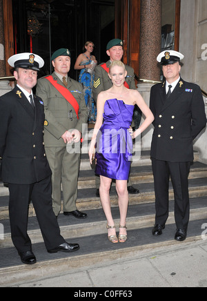 Tuuli Shipster The launch of the new James Bond novel 'Devil May Care' held at 50 St James' - Arrivals London, England - Stock Photo