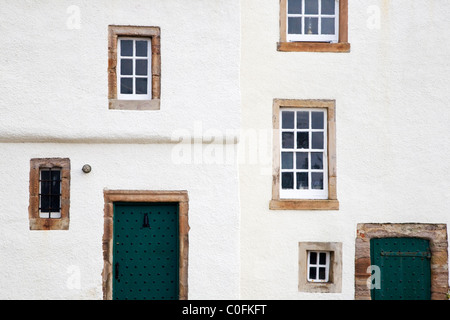 Cottage at The Harbour Pittenweem Fife Scotland - Stock Photo