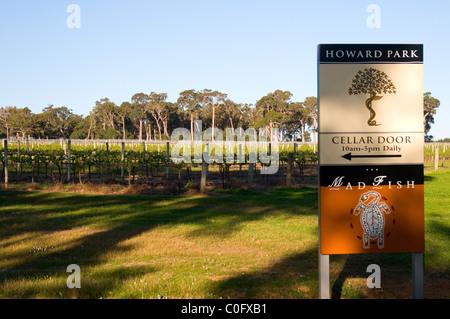 Howard Park Winery, Margaret River, Southwest Western Australia - Stock Photo