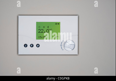 central heating thermostat instructions