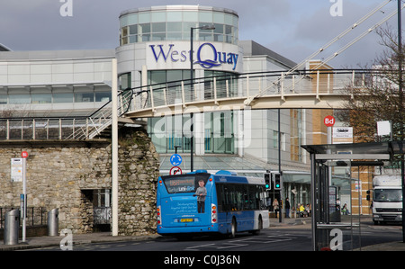 West Quay shopping complex in Southampton city centre southern England UK - Stock Photo