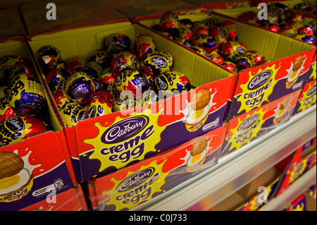 cadbury creme eggs on sale - Stock Photo